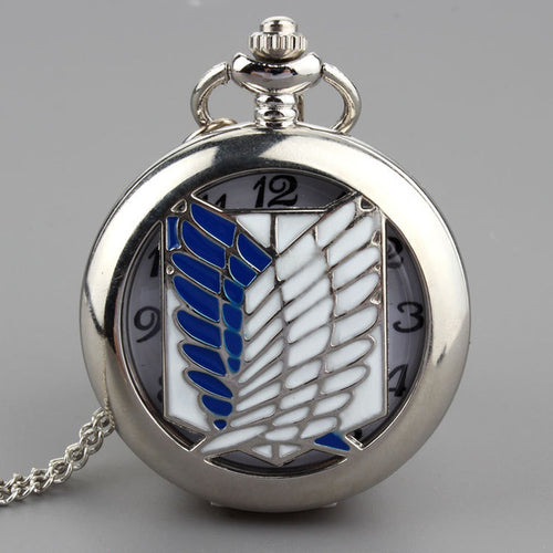 Attack on titan Pocket Watch Nacklace - The Night
