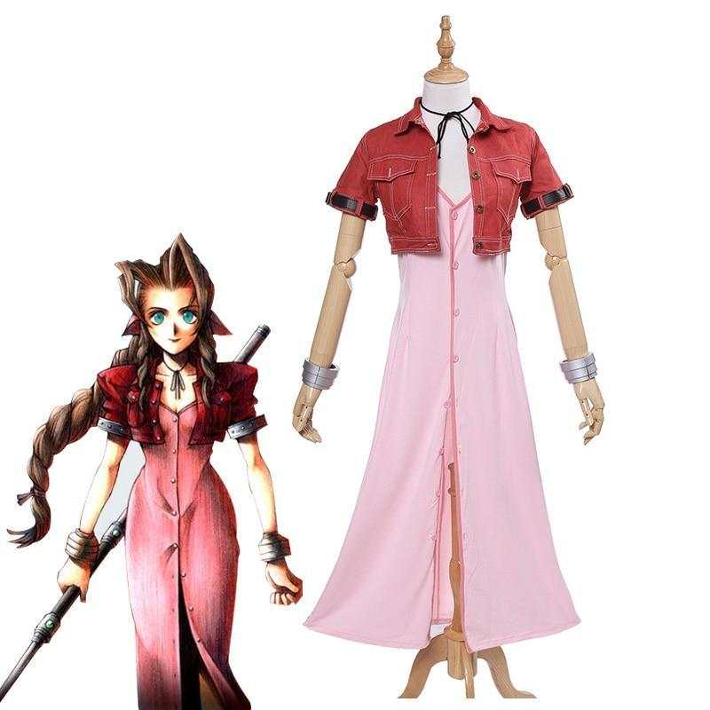 Final Fantasy VII Aeris Cosplay FF7 Aerith - The Night