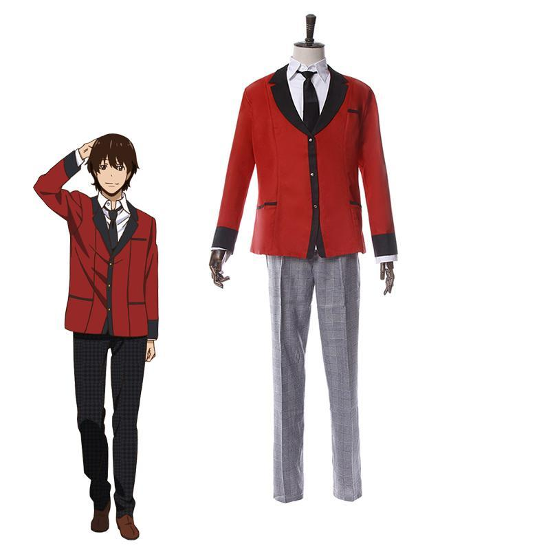 Kakegurui Compulsive Gambler Cosplay Ryouta Suzui - The Night