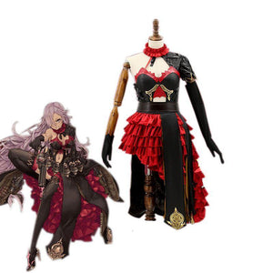 SINoALICE Cosplay Costume Cinderella Role - The Night