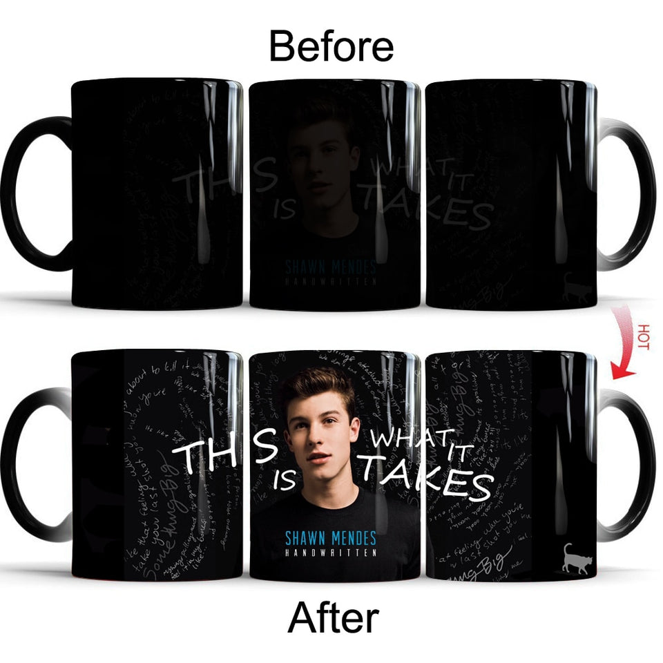 Shawn Mendes Mugs Coffee - The Night