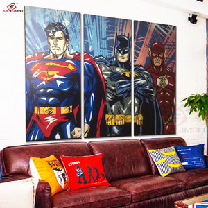 Super Heros Canvas - The Night