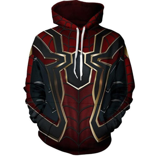 Super Heroes Avengers-Hoodies 3D - The Night
