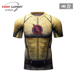Super Heros compression tshirts 3D - The Night