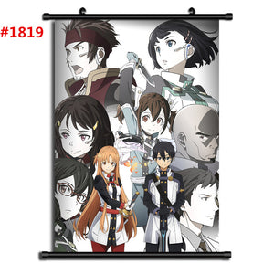 Sword Art Online Anime manga wall Poster - The Night