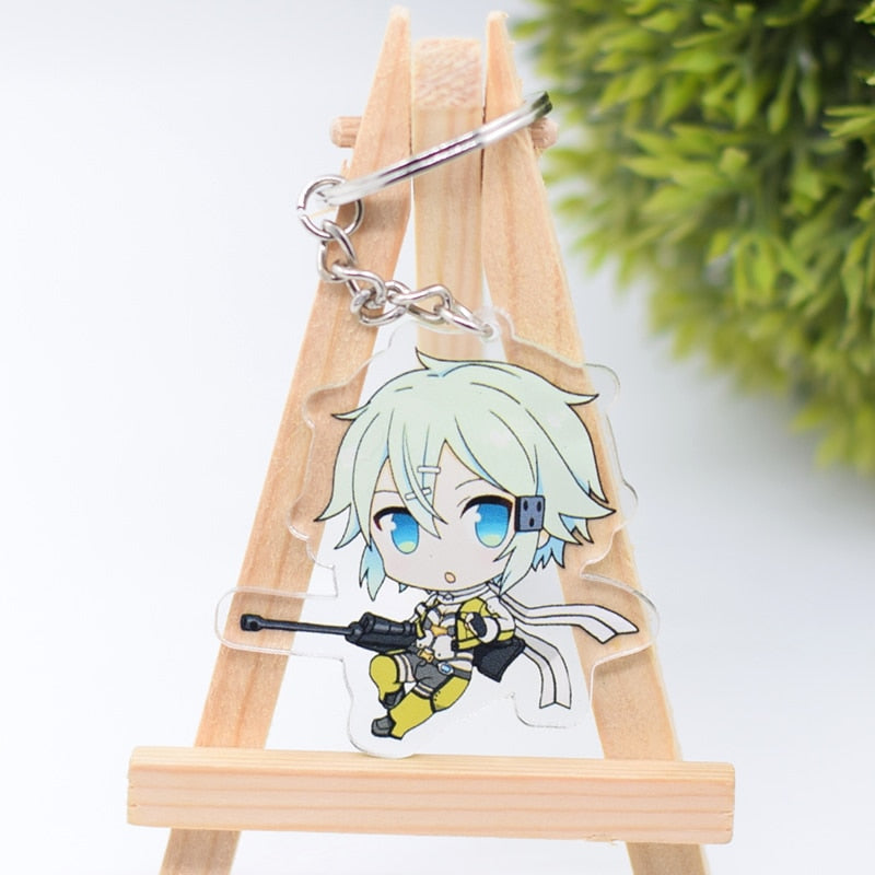 Sword Art Online Keychains - The Night