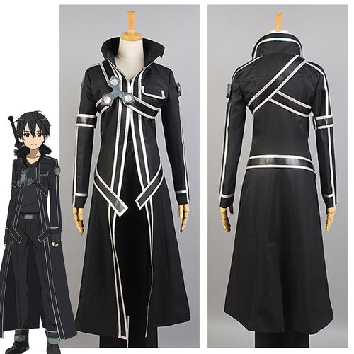 Sword Art Online SAO Kazuto Kirigaya Kirito COSPLAY - The Night