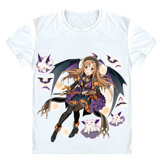 Sword Art Online SAO T-Shirts - The Night