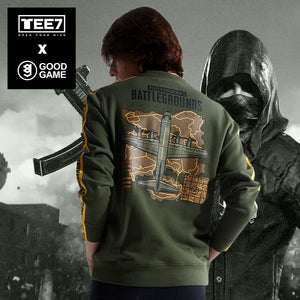 Playerunknowns Battlegrounds Hoodies PUBG - The Night