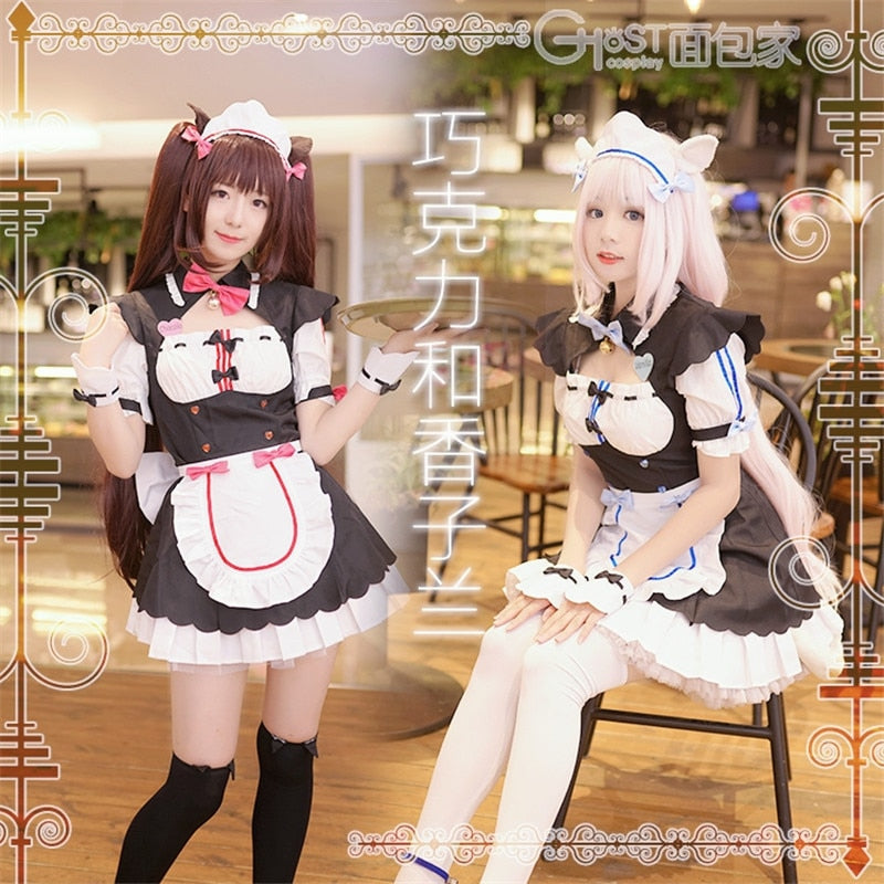 Cosplay Costume Sexy Cute Dress Hentai - The Night