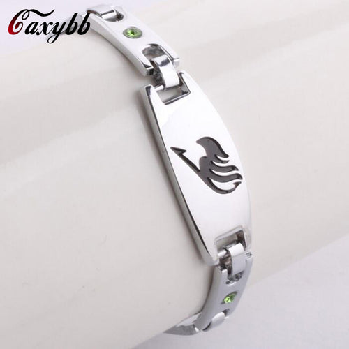 The New Men Women Fairy Tail Figure Metal bracelet - The Night