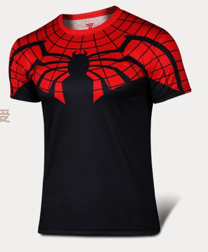 The Spider-Man T-Shirt  Black Widow Red Venom - The Night