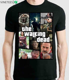 The Walking Dead Funny T-shirts - The Night