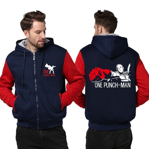 ONE PUNCH MAN Hoodie Zipper - The Night