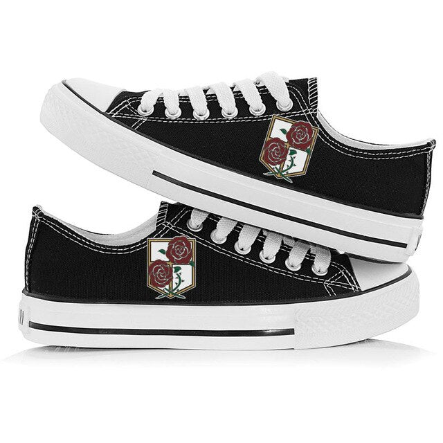 Attack On Titan shoes Unisex - The Night