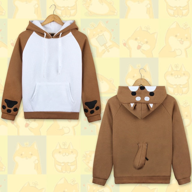 Hoodie Kawaii Shiba Inu Cosplay - The Night