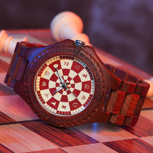 Wood Watch No Game No Life Male - The Night