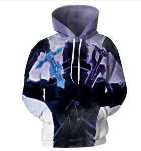 Sword Art Online Fashion 3d hoodies - The Night