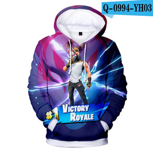 FØRTNITE 3D Hoodies - The Night
