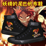 Fairy Tail shoes Unisex - The Night