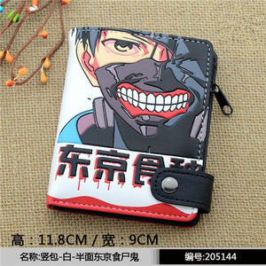 +30 anime Wallet Fairy Tail One piece Tokyo ghoul - The Night