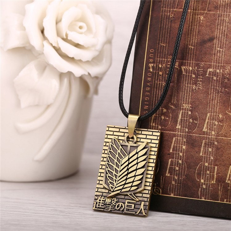 Attack On Titan Cosplay Necklace - The Night