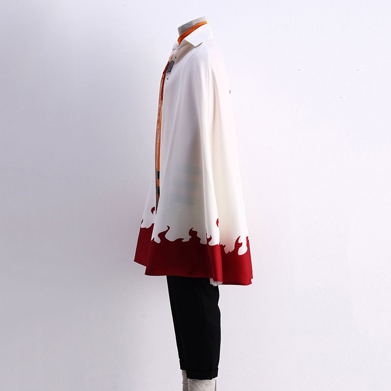 Naruto 7th Hokage Cosplay Costume - The Night
