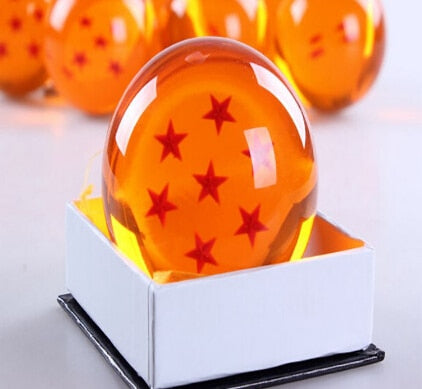 Original Box 7.5CM Dragon Ball Z Crystal Balls - The Night