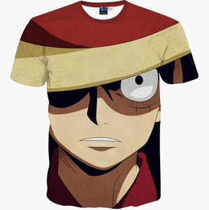 Monkey D luffy 3D T-shirt Cosplay - The Night
