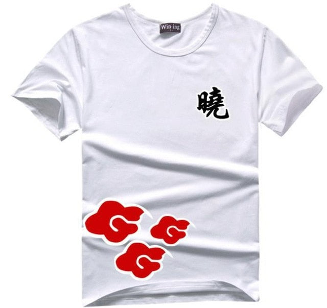 Naruto Akatsuki T-Shirts Cosplay Costume - The Night