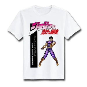 jojo's bizarre adventure t-shirt fashion - The Night