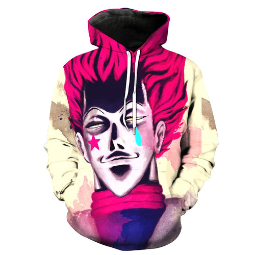 Hunter x hunter hisoka  3D Hoodie - The Night