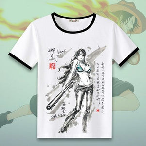 One Piece T-shirts Cosplay Sleeve Tees - The Night