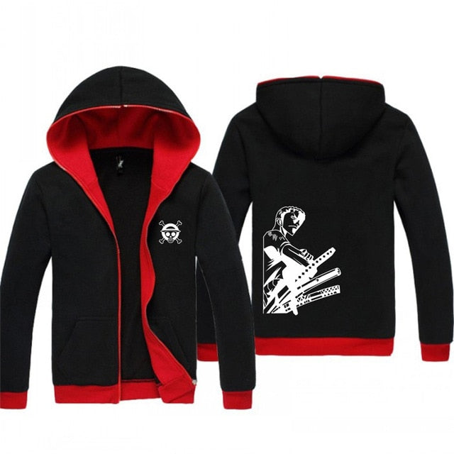 Fashion Hoodie Sweatshirt Monkey D Luffy - The Night