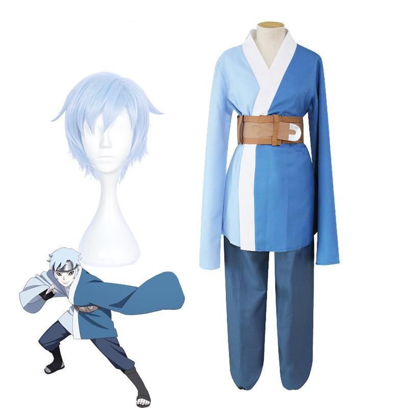 Boruto Mitsuki Blue Wigs Cosplay For Halloween
