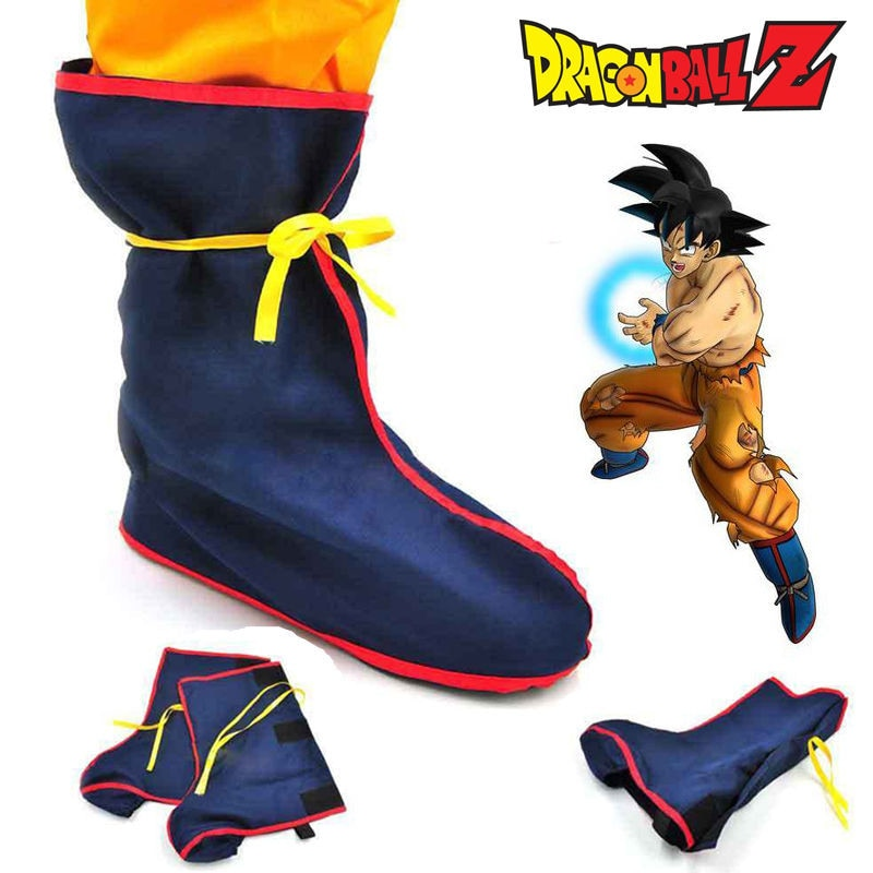 Son Goku Cosplay Boots Shoes - The Night