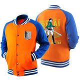 Attack On Titan Baseball Jacket - The Night