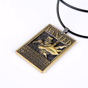 One Piece Anime Wanted Necklace - The Night