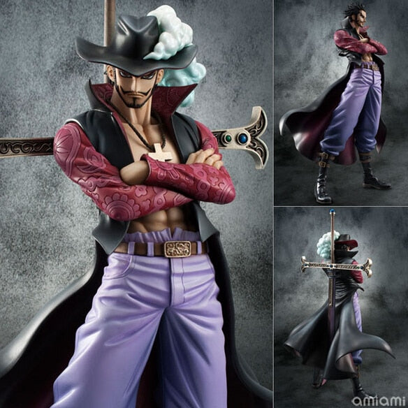 Dracule Mihawk eye pvc action figure collection - The Night