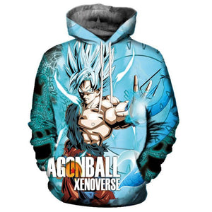 Dragon Ball 3D Hoodies - The Night