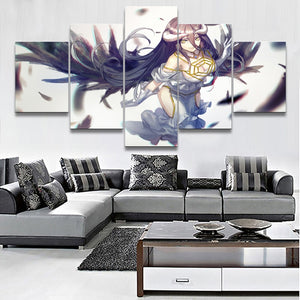 Berdoom Wall Art 5 Pieces Overlord - The Night