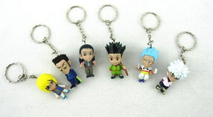 6pcs Key Chain Hunter X Hunter Action Figure Toys - The Night