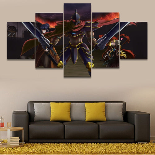 Canvas Wall Art Framework Overlord - The Night