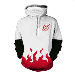 Naruto 3D Hoodies Cosplay Costumes - The Night