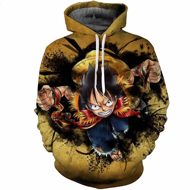 One Piece Fashion 3D Hoodies - The Night