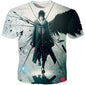 3D T-shirts Sasuke Akatsuki - The Night