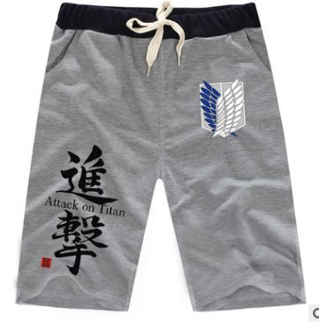 Attack On Titan Cosplay short Sweatpants - The Night