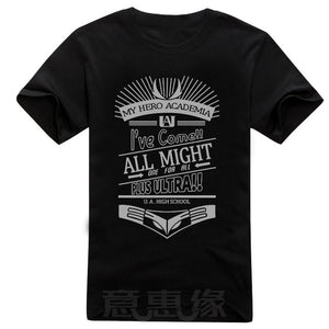 t-shirt My Hero Academia ALL Might - The Night