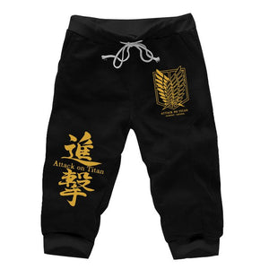 Attack On Titan short Sweatpants - The Night