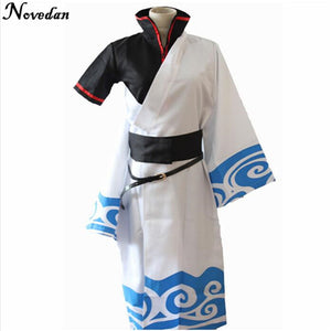Gintama Sakata Gintoki Cosplay Costumes - The Night